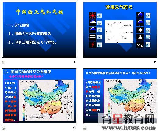 高考复习 中国的 天气和 气候ppt 通用