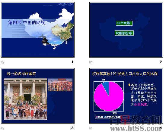 中国56个民族介绍ppt 中国56个民族ppt 中国56个民族介绍