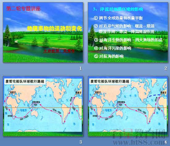 地理事物的运动和变化ppt
