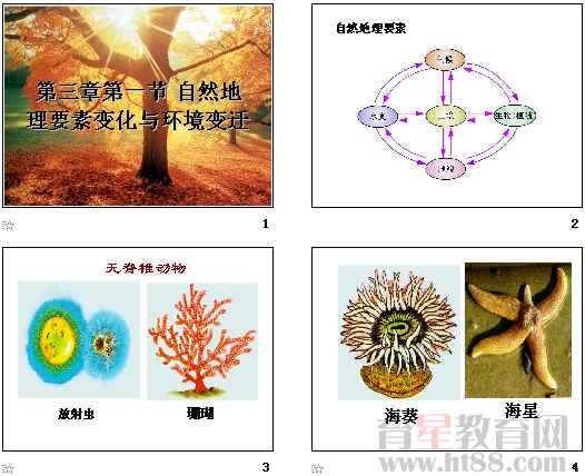 自然地理要素变化与环境变迁ppt1