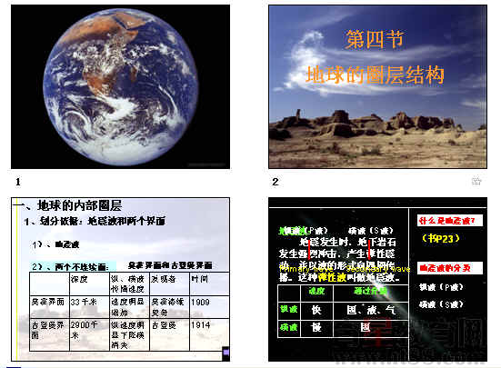 地球的圈层结构ppt9 人教课标版
