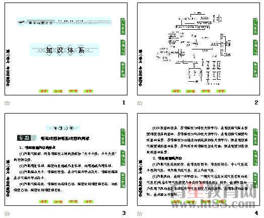 高中地理必修一第二单元本章高效整合及单元检测ppt