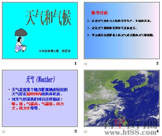 天气和气候 ppt8