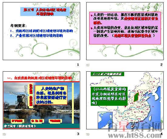 人类活动对区域地理环境的影响ppt3