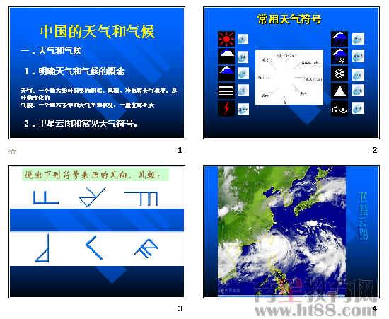 中国的天气和气候ppt1