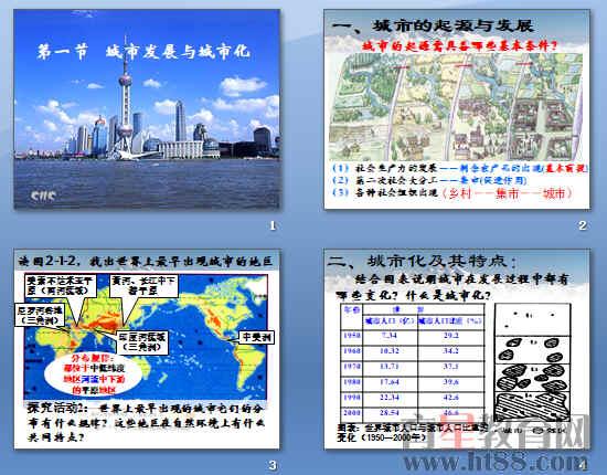 《城市发展与城市化》ppt11